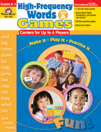 High-Frequency Words: Center Games for Up to 6 Players, Le