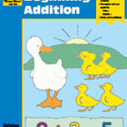 Math Activity Books, Beginning Addition (Enhanced eBook)