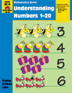 Math Activity Books, Understanding Numbers 1,20 (Enhanced eBook)