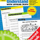 Read and Understand with Leveled Texts: Grade 2 (Enhanced eBook)