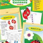 Take It to Your Seat Phonics Centers, Level A, Grade PK-K