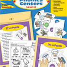 Take It to Your Seat Phonics Centers, Level D, Grades 2-3