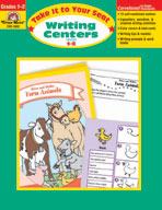 Take It to Your Seat Writing Centers, Grades 1,2 (Enhanced eBook)
