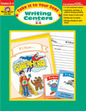 Take It to Your Seat Writing Centers, Grades 3-4 (Enhanced eBook)