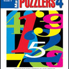 Math Puzzlers Grade 4 (Enhanced eBook)
