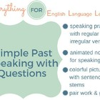 ESL Elementary Simple Past Practice
