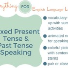 ESL Elementary Simple Present/ Simple Past Practice