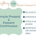 ESL Intermediate Simple Present / Present Continuous Practice