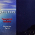 ESL Lightning Storms Sample PowerPoint for Elementary ELLs