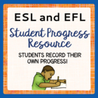 ESL or ELD Progress Book