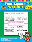 Four Square Writing Method Grades 1-3 [With Support Files]