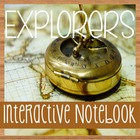 Social Studies Notebooking- EXPLORERS of North America- Wi
