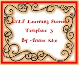 EYLF Learning Stories Template 3