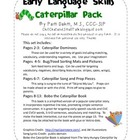 Early Language Skills Caterpillar Pack