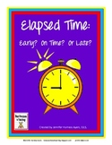 Early, On Time, Or Late Elapsed Time Quiz Cards
