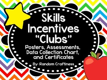 "Early Skills ""Clubs"": Posters, Assessments, Recording Char"
