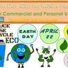 Earth Day Clip Art MEGA Pack {Commercial and Personal Use}