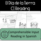 Earth Day!  El Dia de la Tierra Reading Comprehension Practice