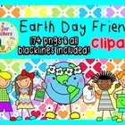 Earth Day Friends Clipart