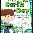 Earth Day Game Board and Blank Task Cards