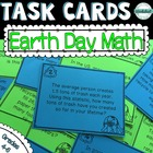 Earth Day Math! 20 Problem Solving Task Cards!