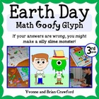 Earth Day Math Goofy Glyph (3rd grade Common Core)