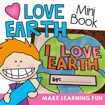 Earth Day Mini Book - Printable Writing Activities