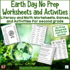 Earth Day No Prep Printables: Not Just for the Sub Tub!