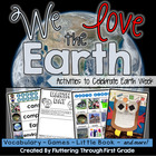 "Earth Day Week Activities - ""We Love the Earth"""