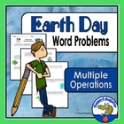 Earth Day Word Problems -  Multiple Operations