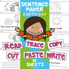 Earth Day Writing Worksheets - Differentiated