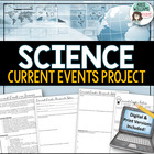 Science Current Events Project - Biology, Chemistry, Earth