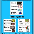 Earth Science Word Wall Cards Bundle