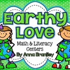 Earthy Love Math & Literacy Centers {Common Core Aligned}