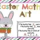 Easter Addition and Subtraction Math Art