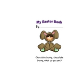 Easter Booklet - Chocolate Bunny, Chocolate Bunny What Do