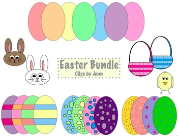 Easter Bundle Freebie!  {Graphics for Commercial & Personal Use}
