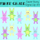 Easter Bunny {Digital Clip Art}