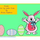 Easter Color By Code (Lowercase Letters)