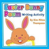 Easter Craft: Easter Bunny Poem Writing Activity with Printables