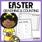 Easter Cube Roll Printable Math Game