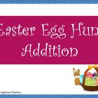 Easter Egg Hunt Addition Game