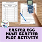 Easter Egg Hunt Scatter Plot Activity
