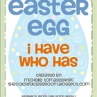 "Easter Egg ""I have...Who has?"" Number + Alphabet Game"