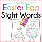 Easter Egg Sight Words- Dolch Primer words