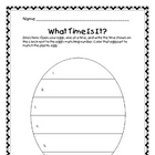 Easter Egg Time Activity