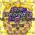 "Easter ""Egg""travaganza {Math and Language Arts Centers}"