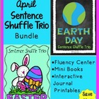 Earth Day and Easter Bundle - Fluency Center - Sentence Sh