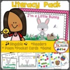 Easter Fun!  I'm A Little Bunny Shared Reading Singable {CCSS}