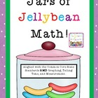 Easter: Jars of Jellybean Math Centers: Common Core Aligne